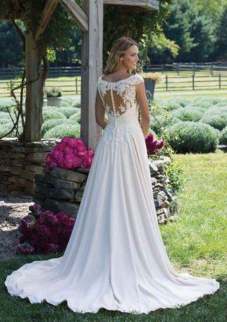 Okazja!!!Suknie ślubna z kamieniami Swarovskiego