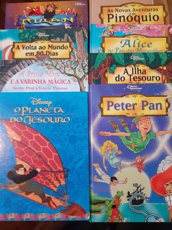 Livros de crianças 0,50€ cada