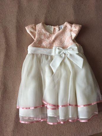 Нарядное платье для принцессы 1,5-2 года