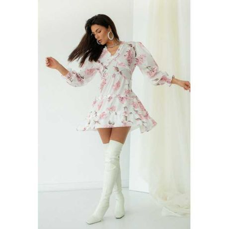 Літнє плаття, Жіноча сукня з відкритою спиною, Женское платье