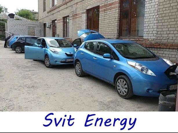 Аренда авто Nissan Leaf для работы в такси