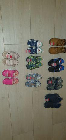 Buty letnie sandałki adidasy zimowe dziewczęce chłopięce rozm. 20-26