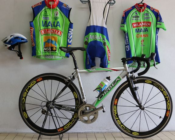 Bicicleta Profissional da Ex Equipa MAIA MILANEZA. Original