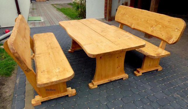 Meble ogrodowe drewniane huśtawka dostawa cały kraj wysyłka za granice