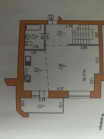 Продам квартира двохрівневу трьохкімнатну квартиру в новубудові
