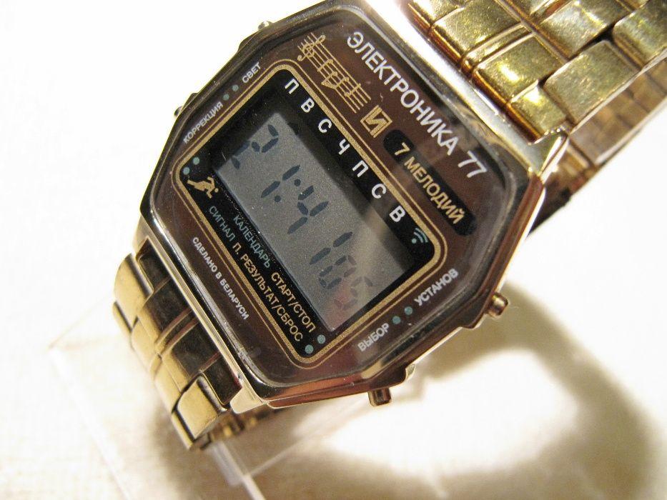 Часы Электроника 77, в коллекцию,2001 года выпуска,новые