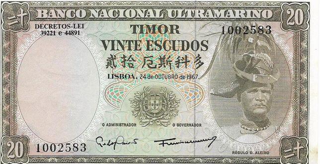 Notas de Portugal e de toido o Mundo - Banknotes