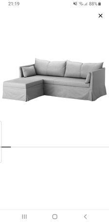 Sofa Ikea Sandbacken jasnoszara