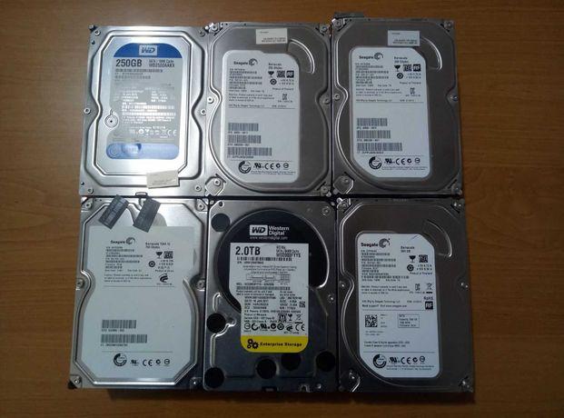"Жесткий диск, винчестер для ПК (HDD) 3.5""  250Gb/500Gb/750Gb/1tb"
