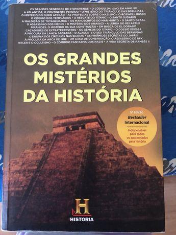 """Livro """"Os grandes mistérios da História"""""""
