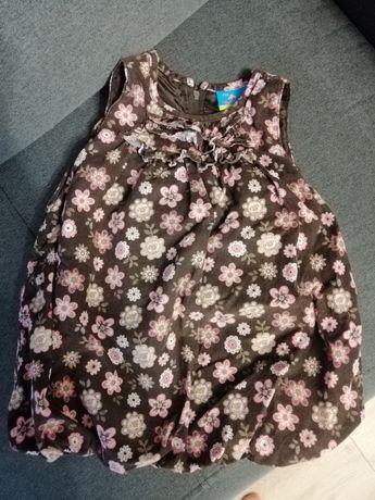 Sukienka bombka dziewczęca