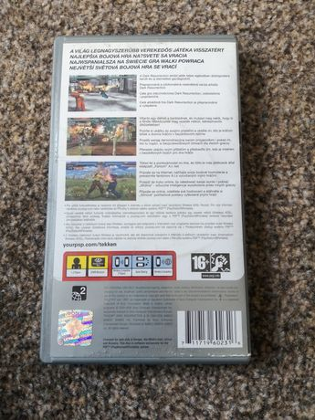 Gra Tekken Dark Resurrection na konsole PSP