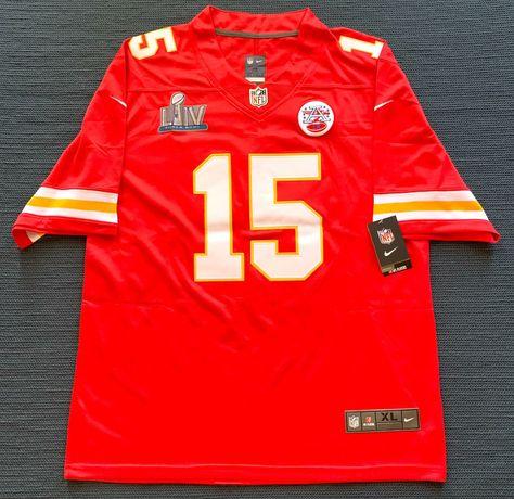 Camisola NFL Chiefs Mahomes 15
