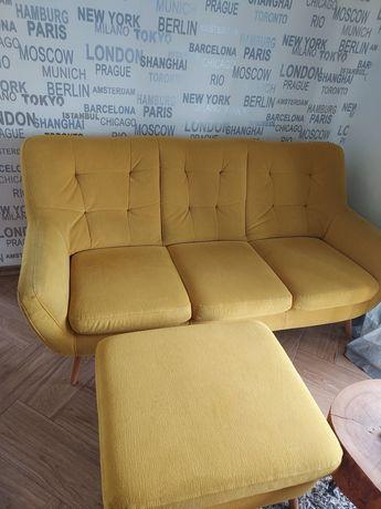 Konspekt, pufa,fotel -komplet