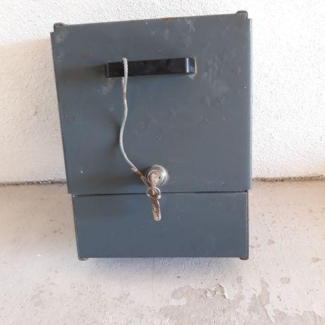 Cofre, caixa Seguro em metal