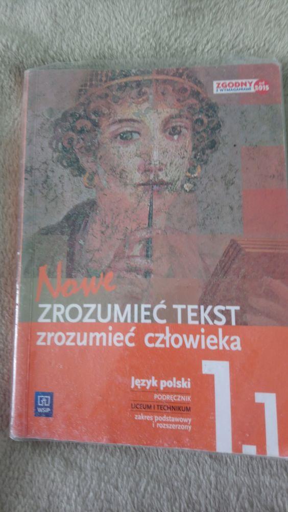 Ksiązka ZROZUMIEĆ tekst,zrozumieć człowieka 1.1 podręcznik Gdańsk - image 1