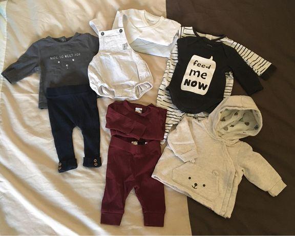 Lote roupa bebé menino recém nascido 1m (56cm)
