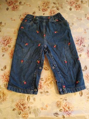 Теплі джинси для дівчинки
