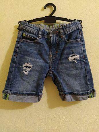 Шорты джинсовые Esprit, для мальчика 6 лет, рост 116 см
