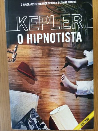 """Coleção """" O Hipnostista"""" e """"O Regresso do Hipnostista"""" de  Kepler"""