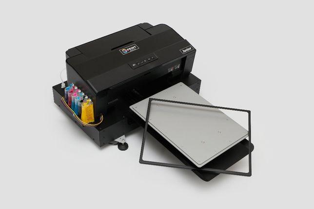 Текстильный планшетный принтер Junior l1800