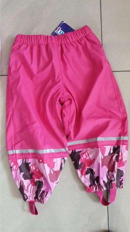 Spodnie przeciwdeszczowe lupilu 86- 92 oraz 122-128