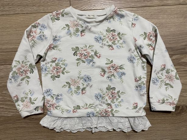 Newbie bluza w kwiaty r.98/104 stan idealny