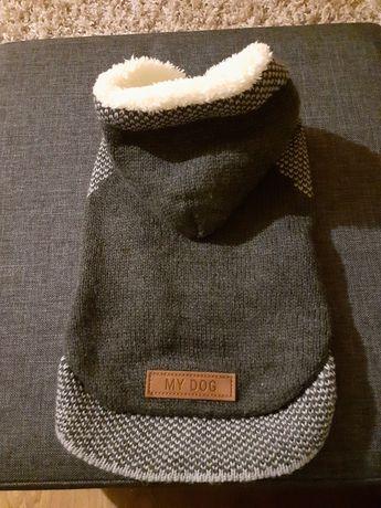 Nowy ciepły sweterek dla psa