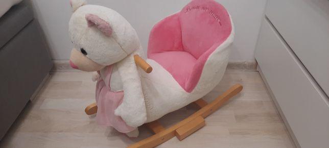 Bujak fotelik miś dla dziewczynek