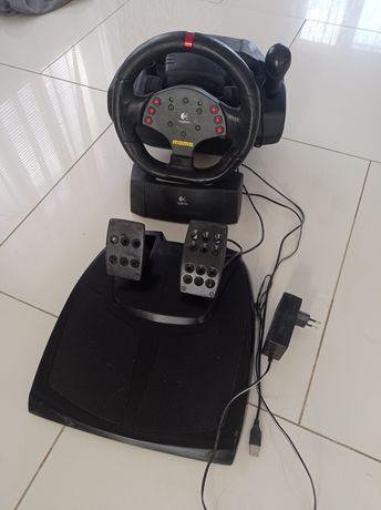 Игровые компьютерные руль и педали