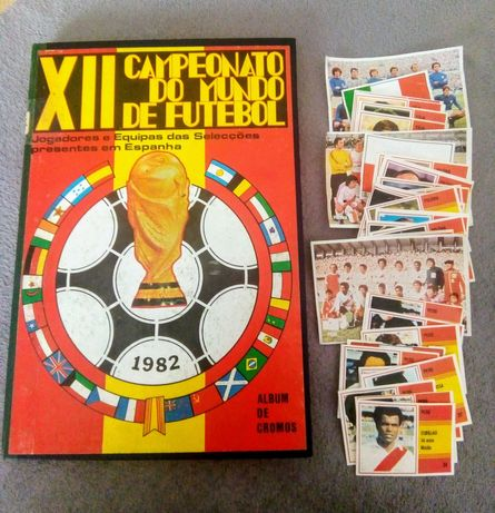 Cromos Campeonato do Mundo de Futebol 1982 - Sorcácius (recuperados)