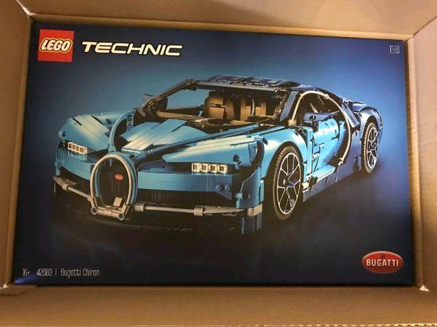 Lego Technic 42083 Bugatti Chiron Selado Entrega Imediata