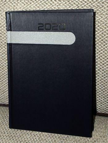 Kalendarz 2020 jako rysownik, notatnik, szkicownik, A5, czarny