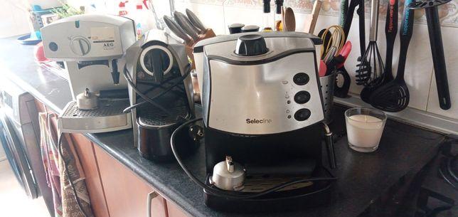 Máquinas de café para desocupar