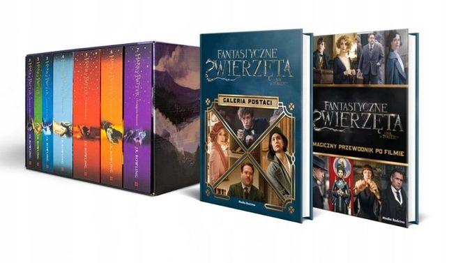 Harry Potter siedmiopak Duddle (oprawa twarda) + dodatki