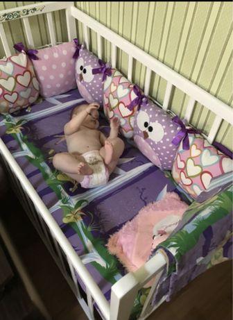 Кроватка детская 120х60