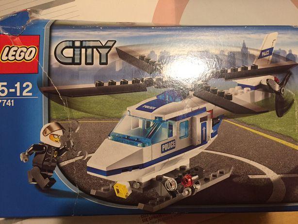 Lego city 7741 helikopter