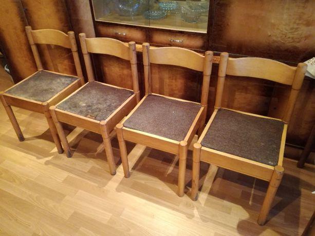 Krzesło tapicerowane do renowacji