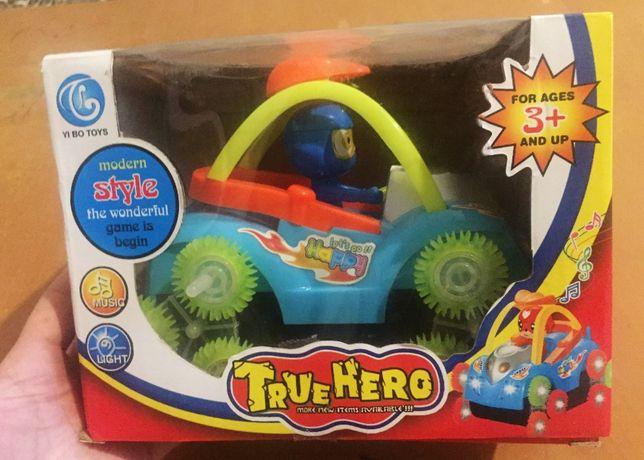 Машинка перевертыш новая True Hero