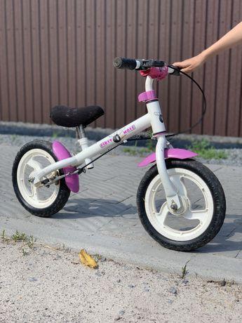 Велобіг для дівчинки
