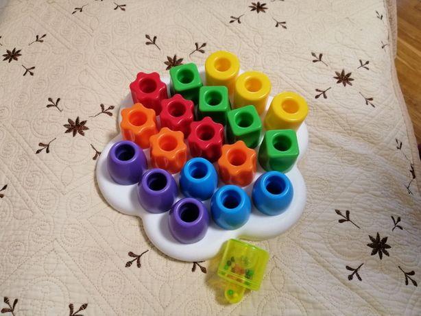 Мозаика Геометрия для детей от 1 года