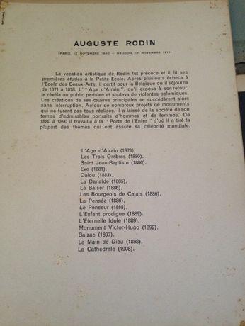 Auguste Rodin Livro com estampas (1940)