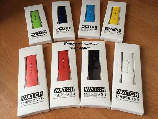 Спортивный браслет для Apple Watch, Силиконовый ремешок, 1:1 Original