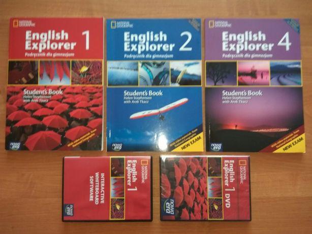 English Explorer wyd. Nowa Era + DVD