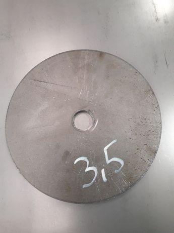 Obciążenie krążki metalowe