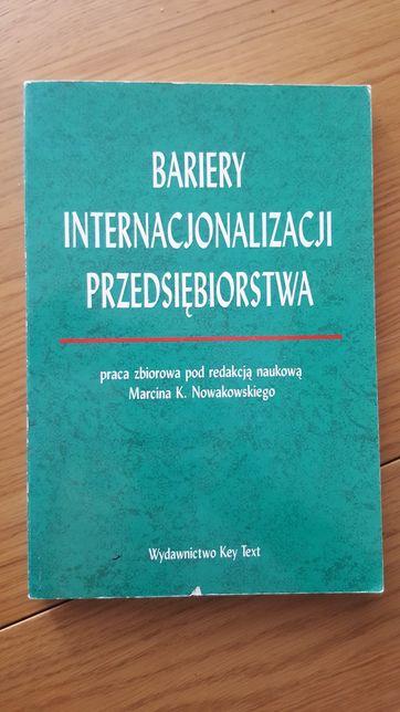 Bariery internacjonalizacji przedsiębiorstwa. Marcin Nowakowski