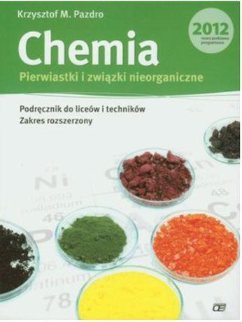 Chemia. Pierwiastki i związki nieorganiczne. Podręcznik do liceów i te