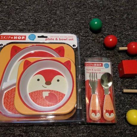Детская посуда, детские столовые приборы Skip Hop. Carters