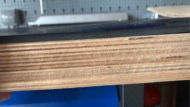 Mata gumowa antywibracyjna siłownia stół warsztatowy 6mm 2,30x1,40