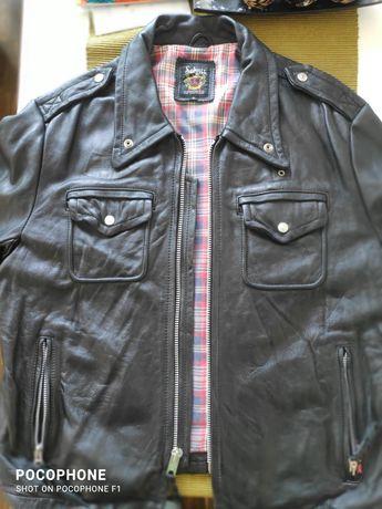 Schott police jacket kurtka skórzana ramoneska perfecto